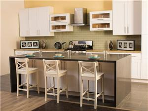 White Shaker Solidwood Kitchen Cabinet