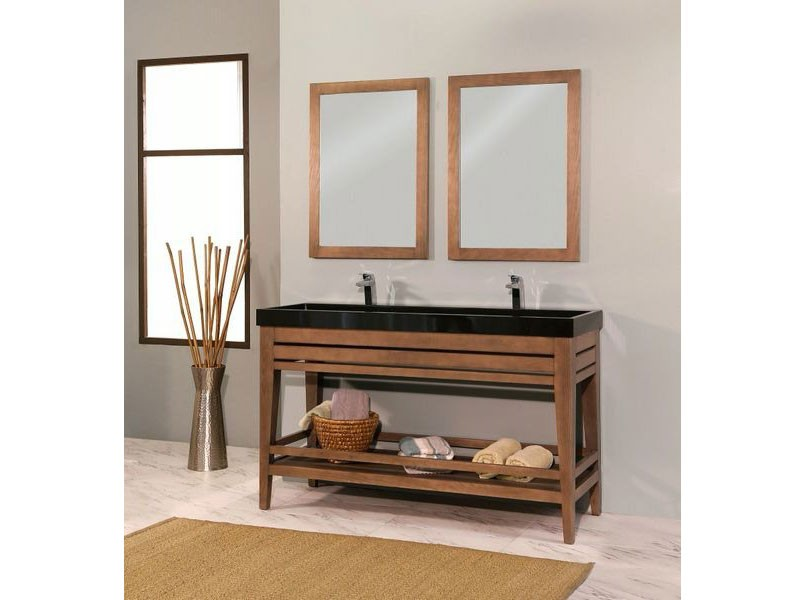 Palm Springs Collection Solidwood Bathroom Cabinet