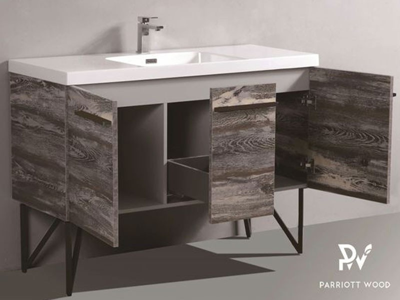 Woodbridge Collection-BC320-120 PVC Melamine Vanity Cabinet Bathroom Cabinet Manufacturers, Woodbridge Collection-BC320-120 PVC Melamine Vanity Cabinet Bathroom Cabinet Factory, Supply Woodbridge Collection-BC320-120 PVC Melamine Vanity Cabinet Bathroom Cabinet