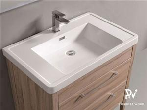 Woodbridge Collection-BC318-080 PVC Melamine Vanity Cabinet Bathroom Cabinet