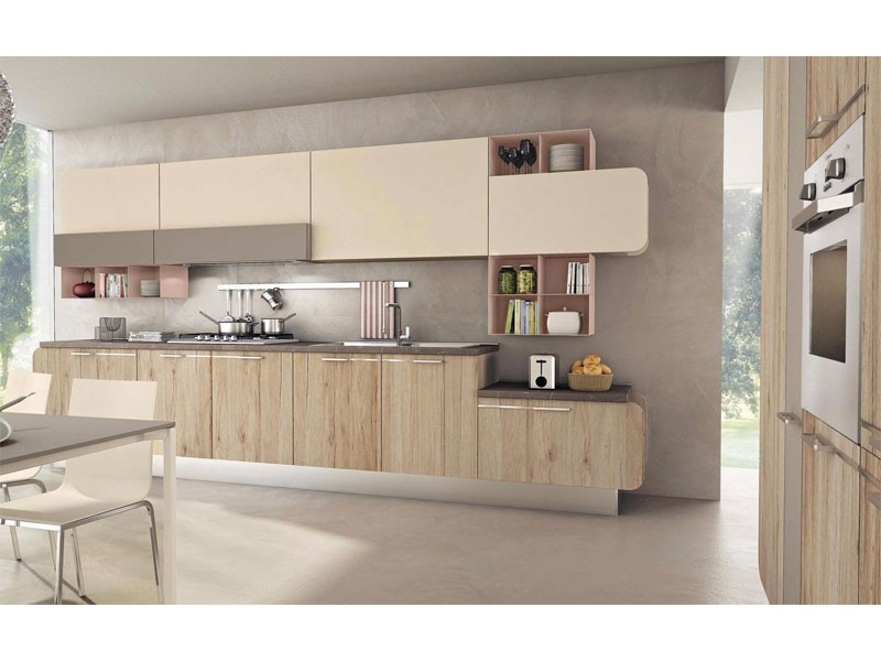 Laminate Melamine Kitchen Cabinet