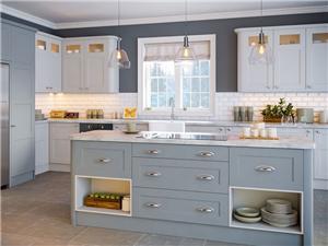 Laminate PVC Kitchen Cabinet