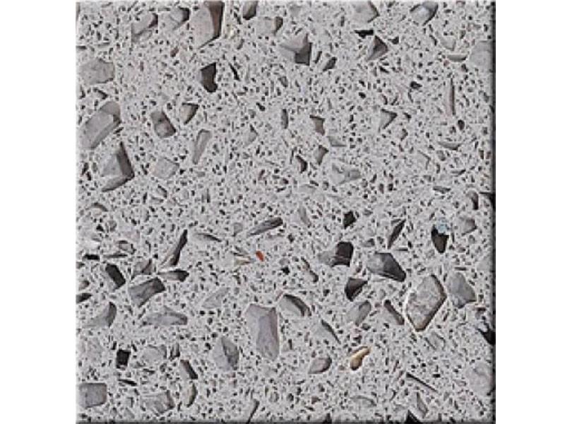 Crystal Dark Grey Waschtischplatte Fliesen Quarz