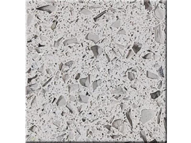 Crystal Light Grey Countertop Vanity Top Slabs Tiles Quatz Manufacturers, Crystal Light Grey Countertop Vanity Top Slabs Tiles Quatz Factory, Supply Crystal Light Grey Countertop Vanity Top Slabs Tiles Quatz