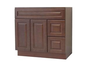 Chestnut Chocalate Solidwood Bathroom Cabinet Knock-down Bathroom Vanity Vanity Cabinet