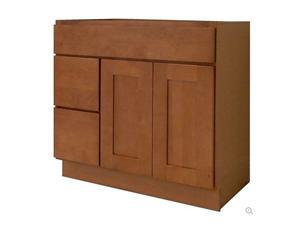 Honey Shaker Solidwood Bathroom Cabinet Knock-down Bathroom Vanity Vanity Cabinet