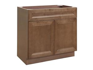 Cottage Birch Solidwood Bathroom Cabinet Knock-down Bathroom Vanity Vanity Cabinet