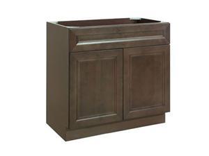 Cottage Ash Solidwood Bathroom Cabinet Knock-down Bathroom Vanity Vanity Cabinet