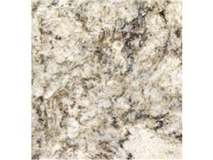 Dessus de vanité de comptoir africain doré, dalles de granit