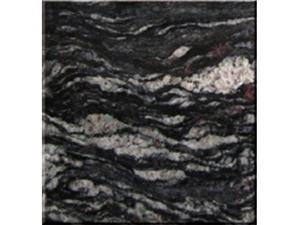 Dessus de vanité de comptoir Black River, dalles de granit