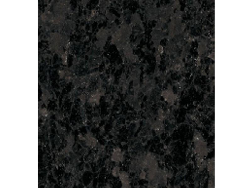 Tapis de vanité de comptoir noir Angola, dalles de granit