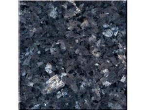 As lajes azuis da parte superior da vaidade da bancada da pérola azul telham o granito