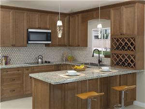 Cottage Birch Solidwood Kitchen Cabinet