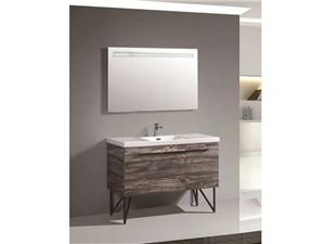 Woodbridge Collection-BC320-120 PVC Melamine Vanity Cabinet Bathroom Cabinet
