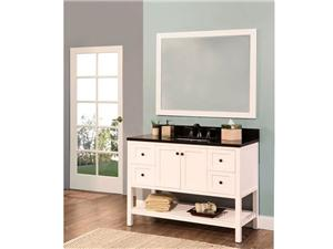 Hampton Bay Collection Solidwood Bathroom Cabinet