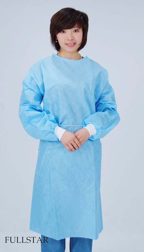 Disposable Non Woven SMS Isolation Gown