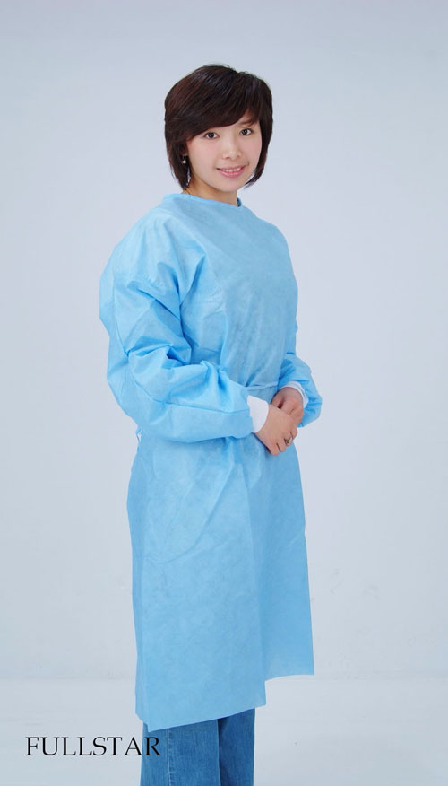 Disposable Non Woven SMMS Isolation Gown Manufacturers, Disposable Non Woven SMMS Isolation Gown Factory, Supply Disposable Non Woven SMMS Isolation Gown