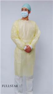 Medical Hospital Laminated PP PE Surgical Gown
