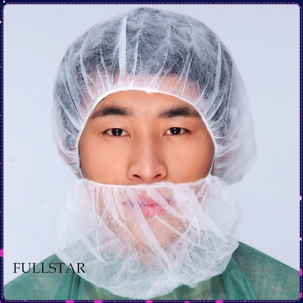 Disposable Beard Cover With Elastic Loop