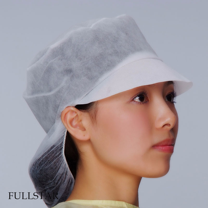 Disposable Non Woven Snood Cap
