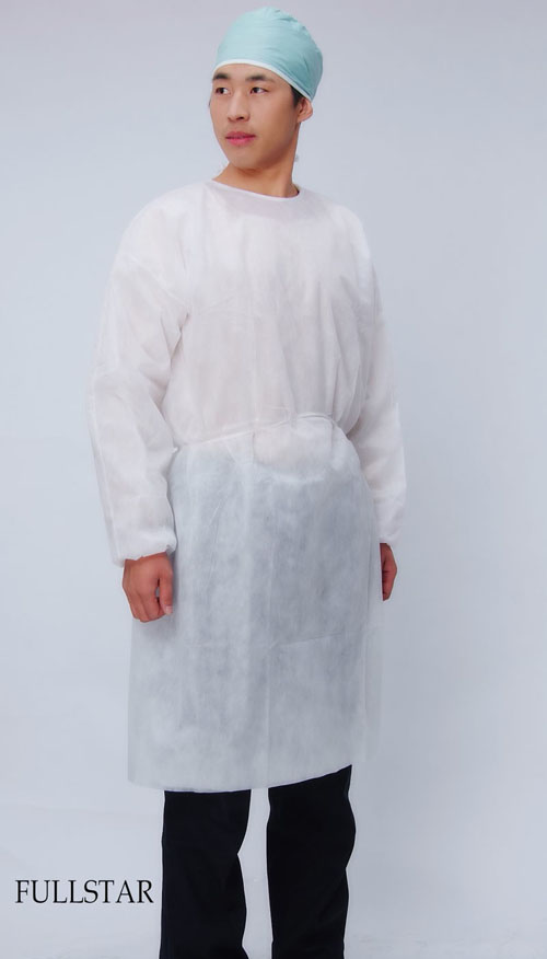 Microporous Isolation Gown