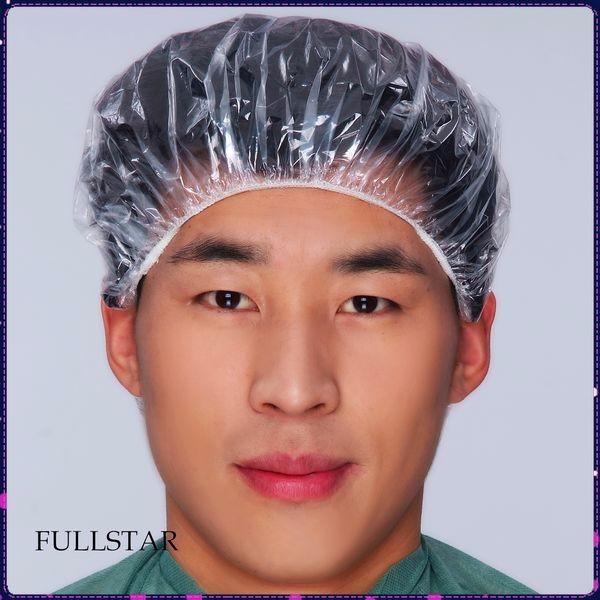 Disposable Plastic Waterproof PE Shower Cap