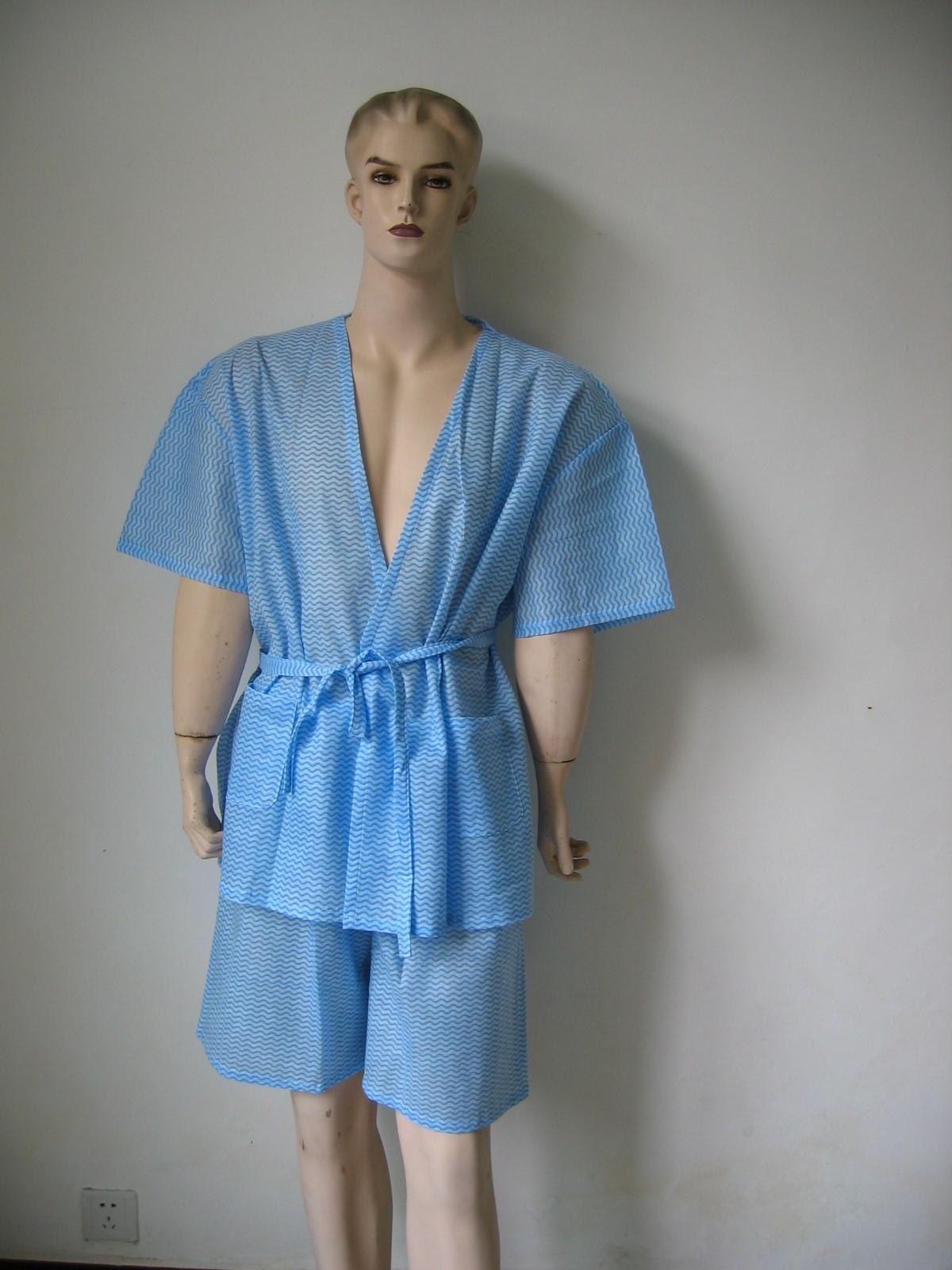 Disposable Non Woven Kimono 2