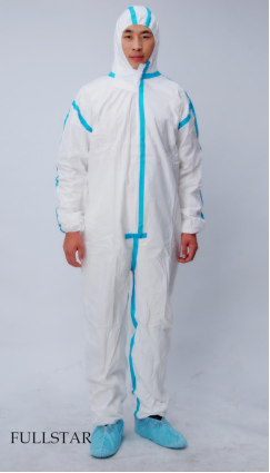 SMS Coverall With Taping