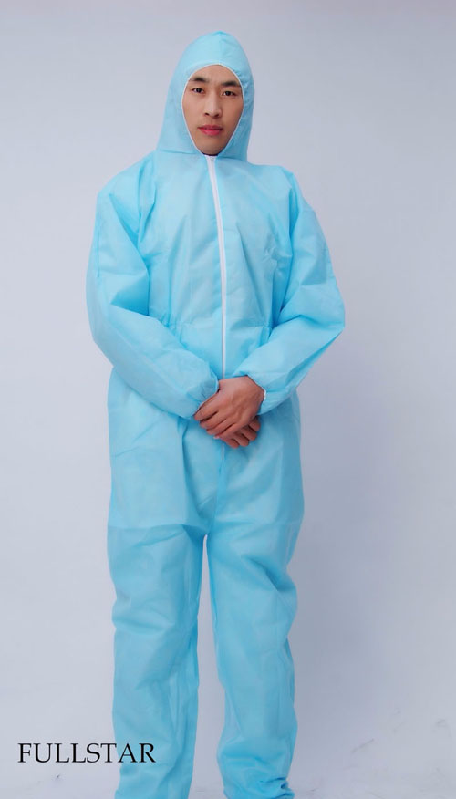 Disposable Laminated Film PP PE Coverall
