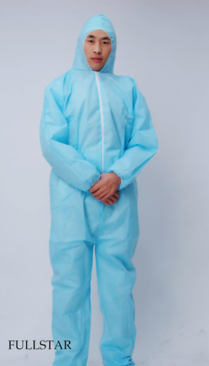 Disopsable PP+PE Coverall