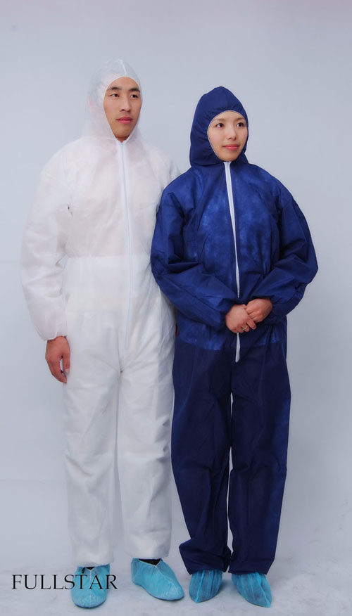 Disposable Non Woven Microporous Coverall