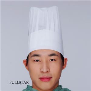 Disposable Paper Terylene Chef Cap