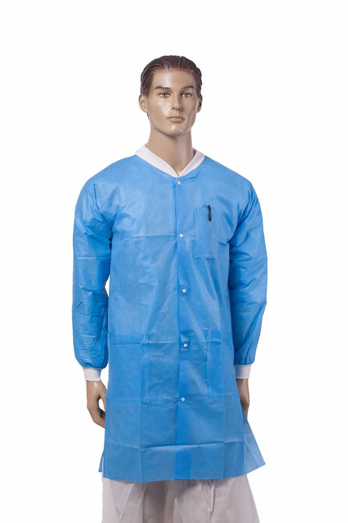 Disposable Microporous Lab Coat
