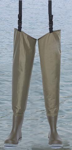 Waterproof Breathable PVC Hip Wader 3