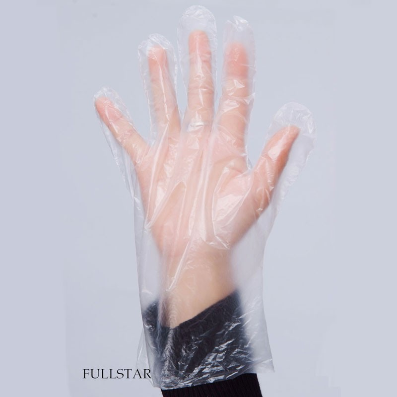 Disposable Waterproof PE Gloves