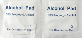 Disposable Alcohol Pads