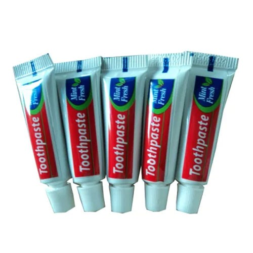 Hotel Size Disposable Toothpaste Customized
