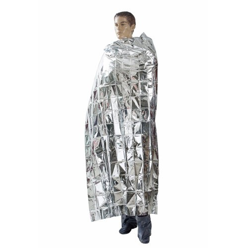 Outdoors Disposable Emergency Blanket