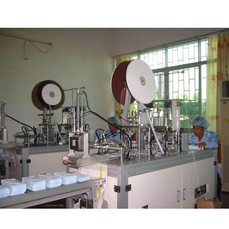 Yüz Maskesi Üretim Makinası