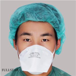 Niosh N95 Folded Face Mask Respirator