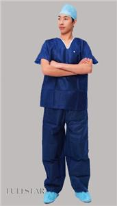 Disposable Hospital SMMS Scrub Suit