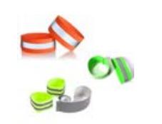 Sport reflektierendes elastisches Armband