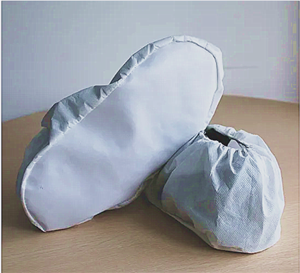 Microporous Shoe Cover With PU Sole
