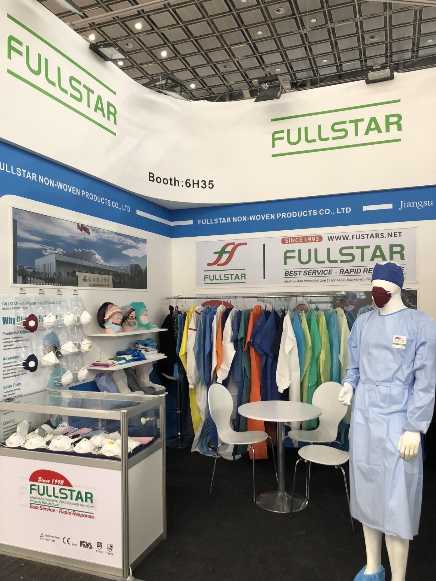 2018 Medica Fullstar booth