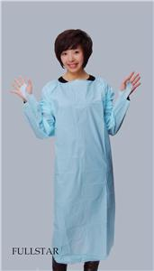 Disposable Plastic Waterproof CPE Gown Thumb Up