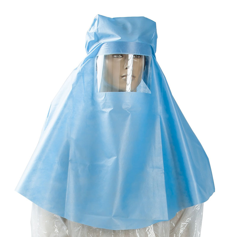 Impervious Hood With Face Shield