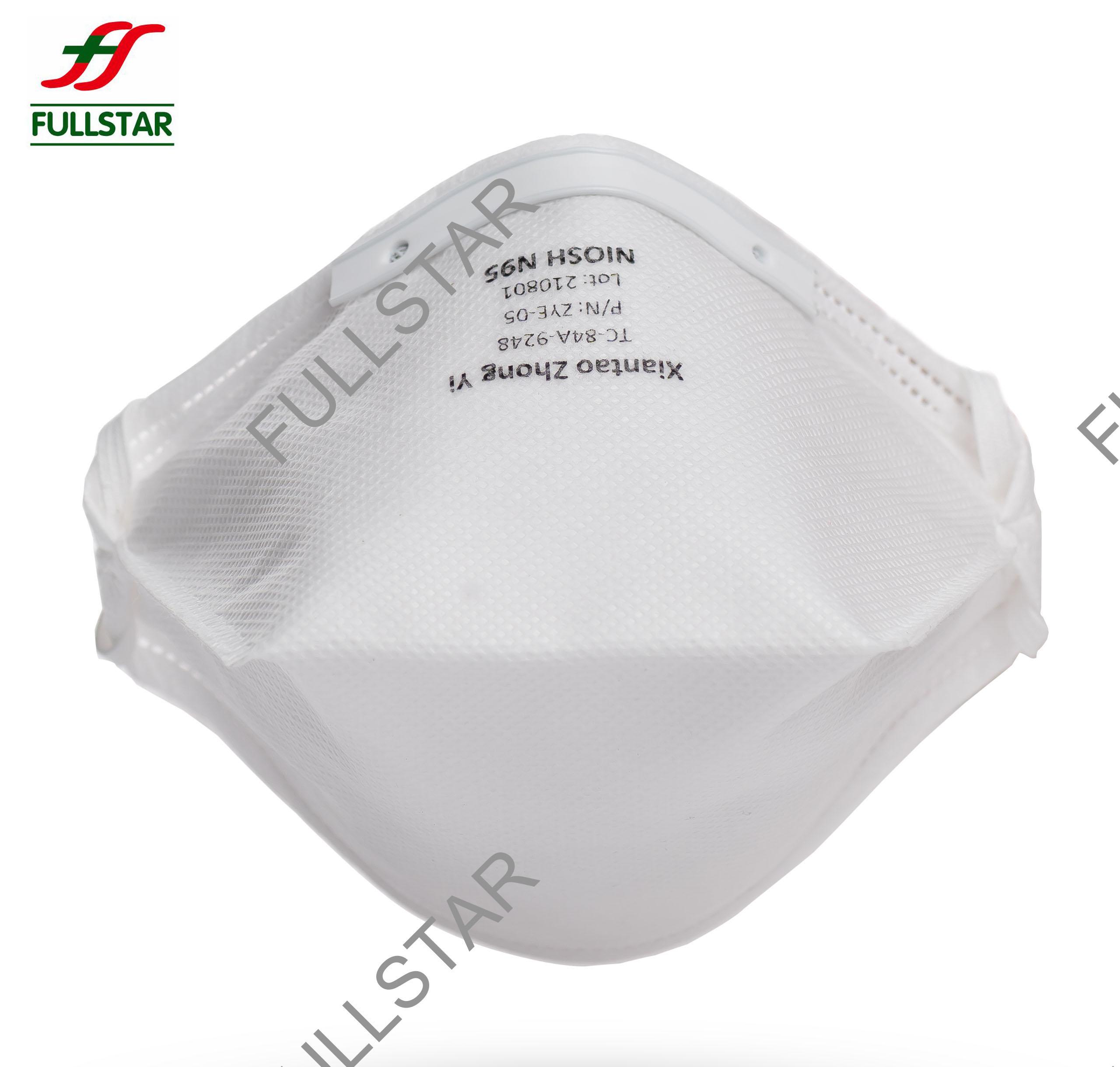 N95 Maske mit Entenschnabelform