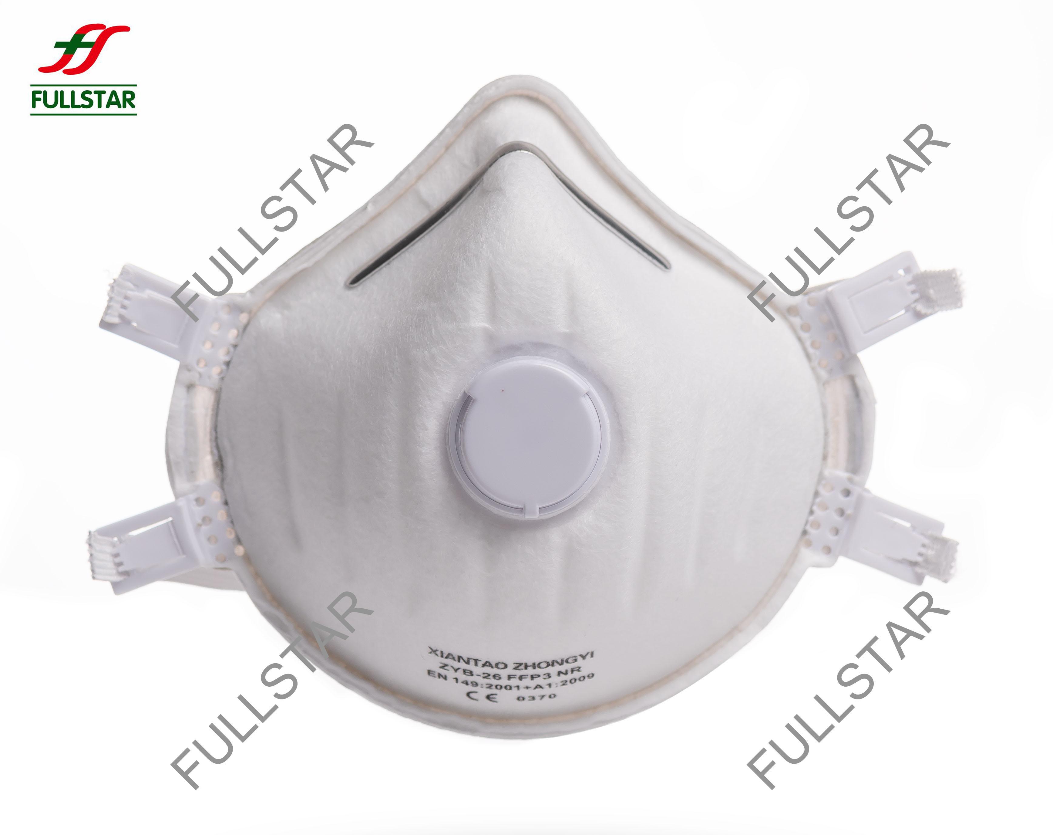 Respirador FFP3 com válvula