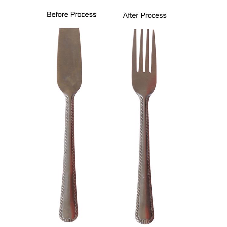 steel fork production machine