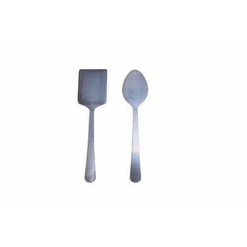 Feeding System For Cutlery Spoon Trimming